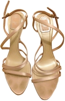 Christian Dior Pink Suede Heels