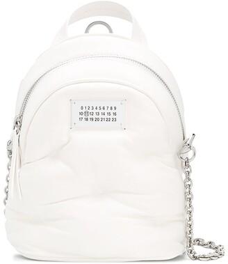 Maison Margiela logo mini backpack