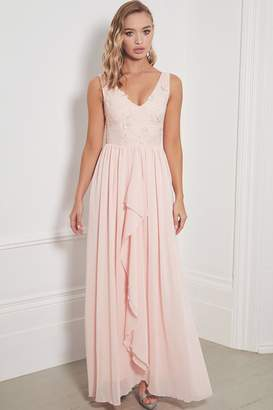 Jessica Rose Sistaglam Special Edition Baliena Blush Maxi Dress