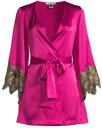 Gilda and Pearl Alexis Silk Robe