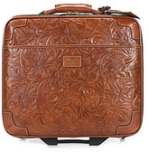 """Patricia Nash Tooled Florence Petrarca 16"""" Carry-On Trolley"""