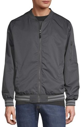 No Boundaries Men's and Big Men's Bomber Jacket
