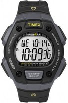 Timex Unisex Quartz Watch with LCD Dial Digital Display and Black Resin Strap TW5M09500