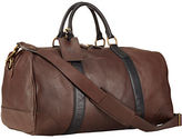 Polo Ralph Lauren Two-Toned Leather Duffel Bag
