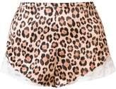 Fleur Du Mal 'Charlotte' lace tap shorts