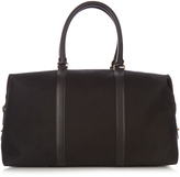 Paul Smith Leather-trimmed canvas weekend bag