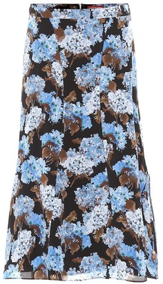 Altuzarra Exclusive to Mytheresa May floral high-rise silk midi skirt