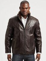 Andrew Marc New York Leather Jacket