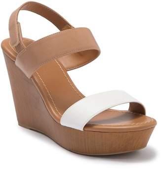 Call it SPRING Cereopsis Platform Wedge Sandal