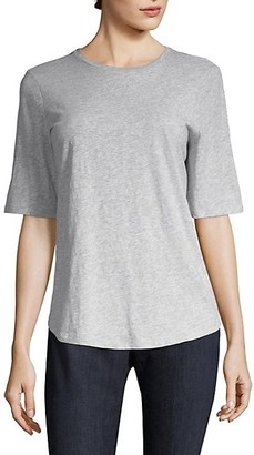 Eileen Fisher System Slubbed Cotton Tee