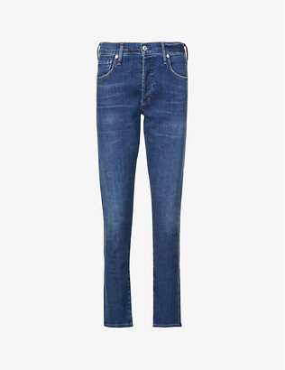 Citizens of Humanity Emerson straight slim-fit mid-rise boyfriend jeans