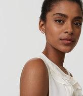 LOFT Crystal Vine Earrings