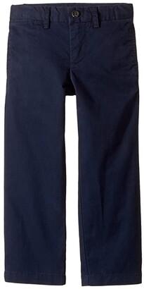 Polo Ralph Lauren Kids Slim Fit Cotton Chino Pants (Toddler) (Aviator Navy) Boy's Casual Pants