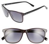 BOSS Men's '0634/s' 55Mm Sunglasses - Gray Black