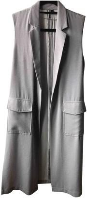 Topshop Tophop Boutique Purple Coat for Women