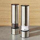 Crate & Barrel Peugeot ® Elis Electric Salt & Pepper Mills