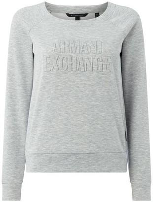 Armani Exchange Armani Crew Neck Sweatshirt