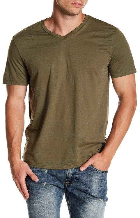 f19655da3 Burnout V Neck Shirt Men - ShopStyle