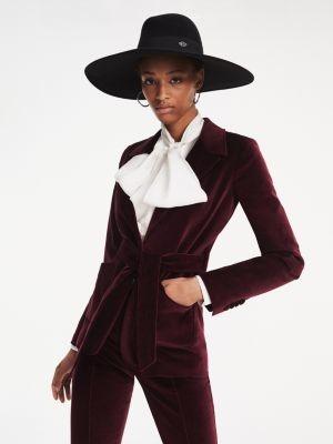 Tommy Hilfiger Zendaya Velvet Tailored Jacket