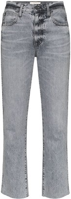 SLVRLAKE Hero High-Rise Cropped Jeans