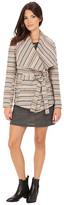 BB Dakota Nivea Stripe Jacquard Belted Jacket