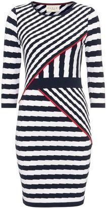 Damsel in a Dress Orianne Stripe Knitted Dress