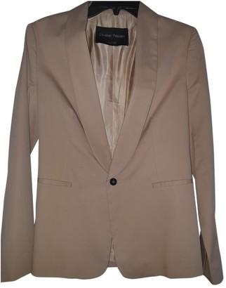 Christian Pellizzari Beige Cotton Jacket for Women