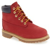 Timberland Boy's 'Patriotic 6 Inch' Waterproof Primaloft Eco Insulated Winter Boot