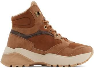 Call it SPRING Kaitlen Faux Fur-Trim Hiker Boots