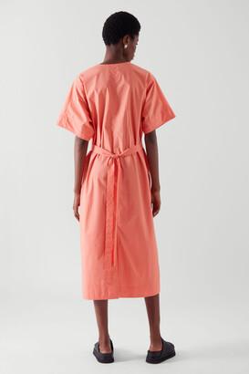 Cos Belted Kaftan Dress