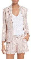 ATM Anthony Thomas Melillo Women's Linen Schoolboy Blazer