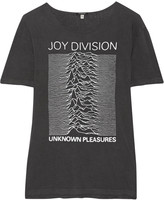 R 13 Joy Division printed cotton-blend jersey T-shirt