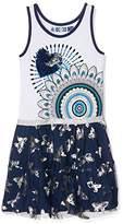 Desigual Girl's VEST_CARSON Dress,(Manufacturer Size: 7/8)