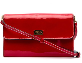 Frances Valentine Kelly Patent Leather Crossbody Bag