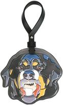 Givenchy rottweiler embossed keyring