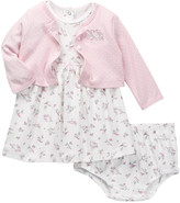 Little Me Birds Dress & Bloomer Set (Baby Girls)