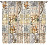 Oriental Design Digital Print Bedroom Living Room Dining Room Kids Youth Room Curtain Panels One of a Kind 2 Panel Set - Machine Washable Silky Satin Window Treatment (Style1, 108Wx84L)