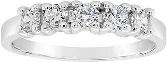 Affinity Diamond Jewelry Affinity 4/10 cttw 5-Stone Diamond Band Ring, 14K