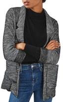 Topshop Bouclè Jersey Boyfriend Blazer