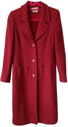 LK Bennett Red Wool Coat for Women