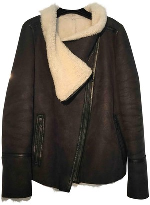 Karl Donoghue Black Leather Jacket for Women
