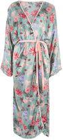**Floral Print Maxi Kimono Jacket by Glamorous Petites