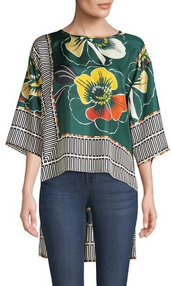 Beatrice. B Printed High-Low Blouse