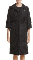 Naeem Khan Women's Embellished Silk Evening Coat