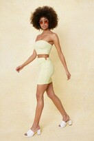 Thumbnail for your product : Nasty Gal Womens O Ring Cut Out High Waisted Mini Skirt - Green - 8