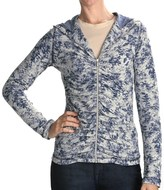 Skins Sno Acid Wash Hoodie (For Women)