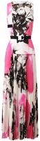 Christopher Kane Floral Printed Silk Dress
