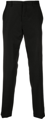 Paul Smith Fine Knit Pleat Detail Tailored Trousers