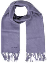 Paul Smith Cashmere Fringed Scarf