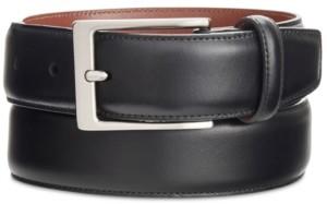 Perry Ellis Portfolio Men's Leather Amigo Dress Belt